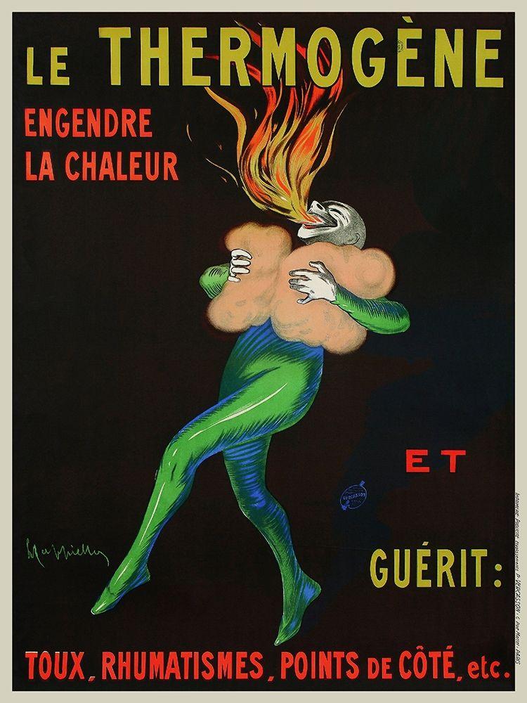 konfigurieren des Kunstdrucks in Wunschgröße Thermog├¿ne Warms You Up, 1909 von Cappiello, Leonetto