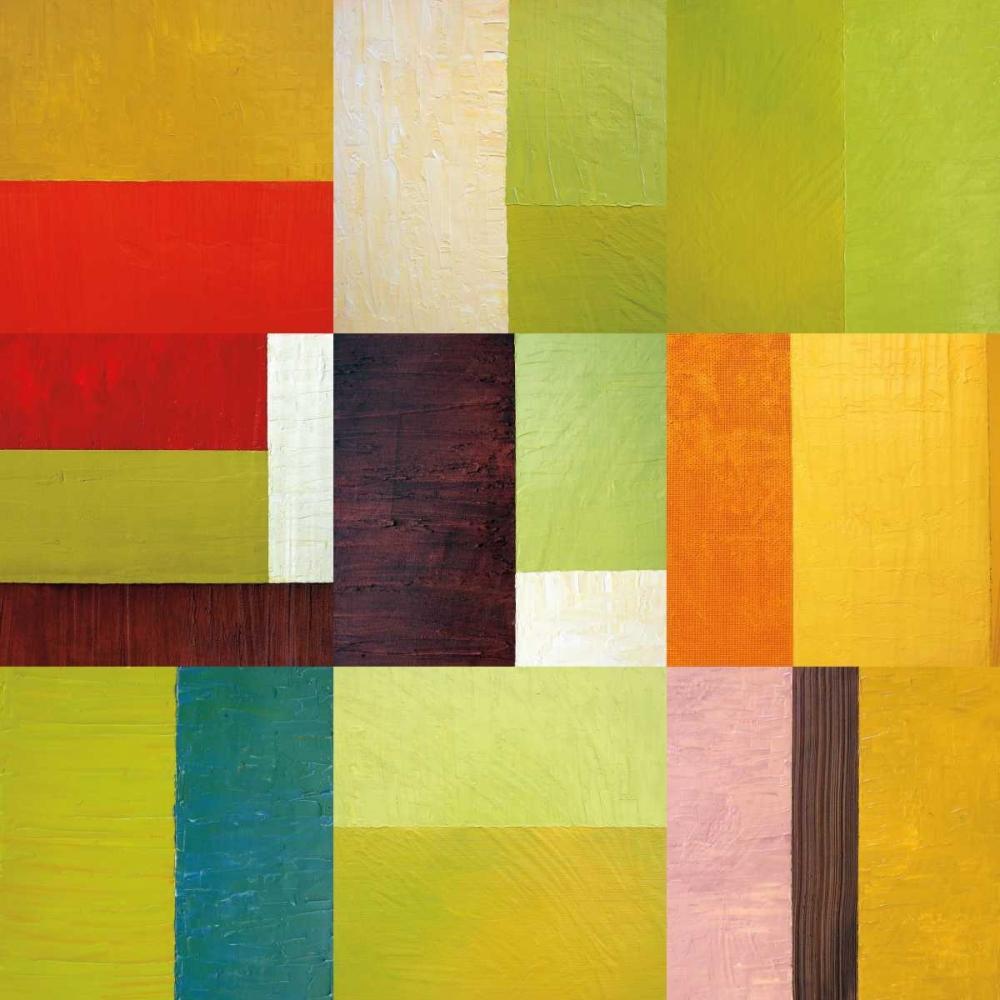 konfigurieren des Kunstdrucks in Wunschgröße Color Study Abstract 2 von Calkins, Michelle