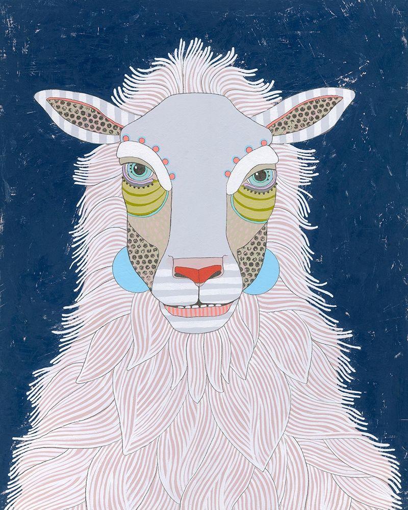 konfigurieren des Kunstdrucks in Wunschgröße Sheep von Davis, Jennifer