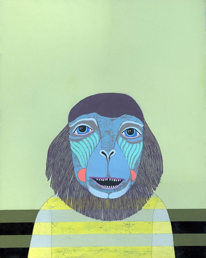 konfigurieren des Kunstdrucks in Wunschgröße Monkey von Davis, Jennifer