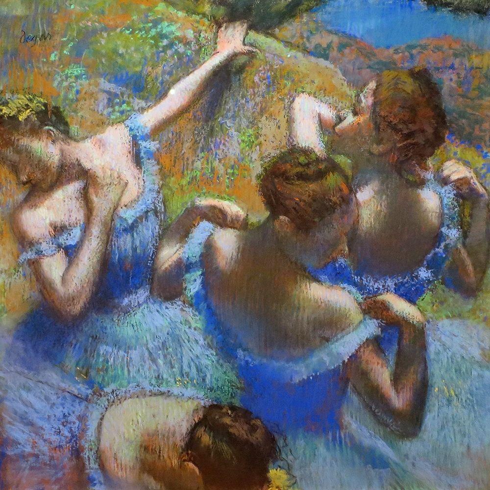 konfigurieren des Kunstdrucks in Wunschgröße Ballerine dietro le quinte von Degas, Edgar