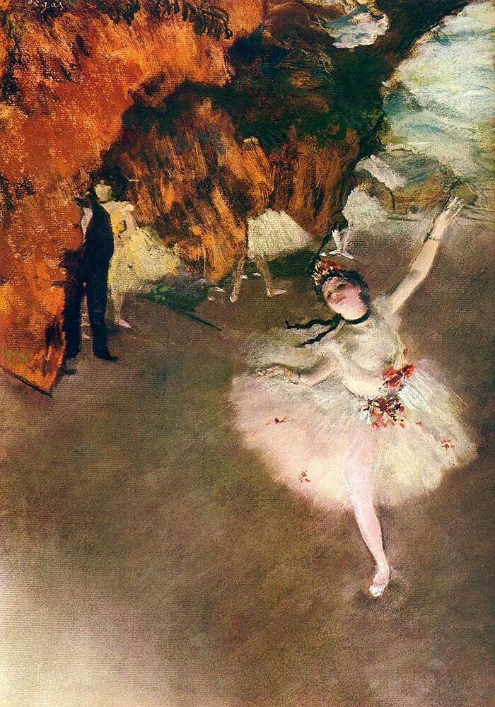 konfigurieren des Kunstdrucks in Wunschgröße Ballet - l├óÔé¼Ôäó├â┬®toile (Rosita Mauri) von Degas, Edgar