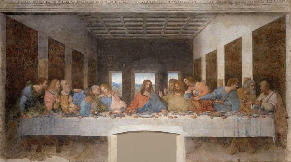 konfigurieren des Kunstdrucks in Wunschgröße The Last Supper von Da Vinci, Leonardo