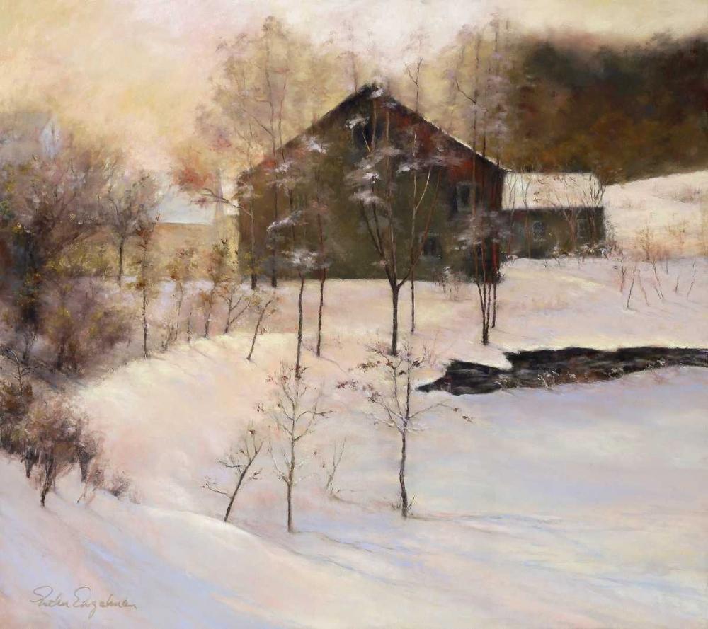 konfigurieren des Kunstdrucks in Wunschgröße Winter Peace von Engelman, Esther