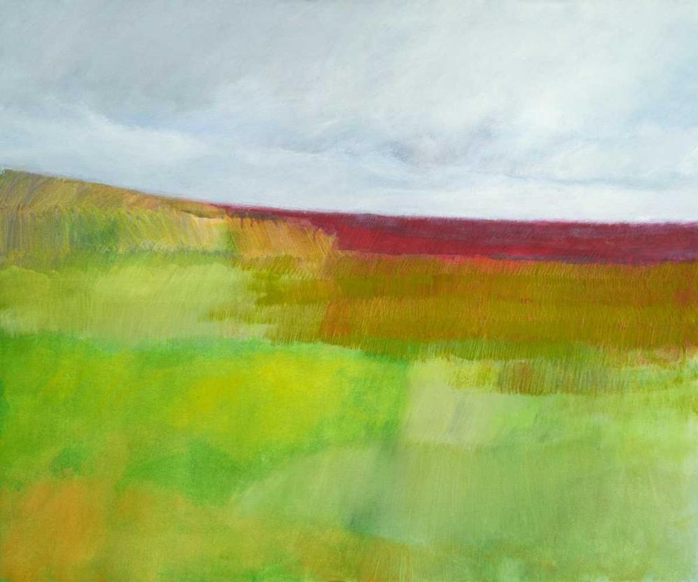 konfigurieren des Kunstdrucks in Wunschgröße Dorset Green and Red von Engeln, Skadi