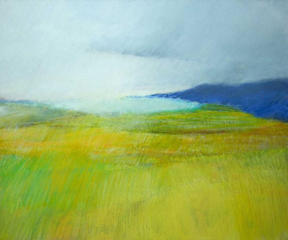 konfigurieren des Kunstdrucks in Wunschgröße Landscape With Blue von Engeln, Skadi