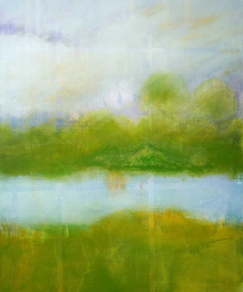 konfigurieren des Kunstdrucks in Wunschgröße Purple and Green Landscape von Engeln, Skadi