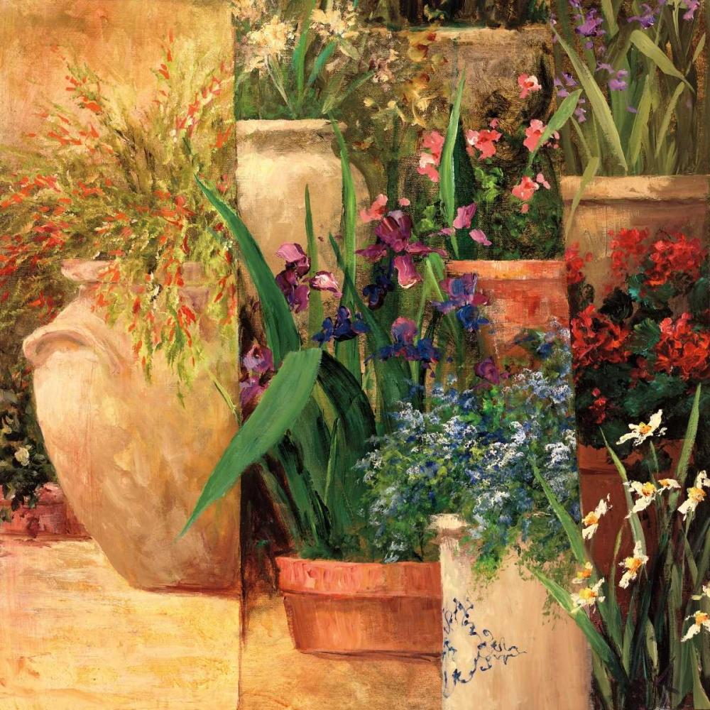 konfigurieren des Kunstdrucks in Wunschgröße Flower Pots Left von Fronckowiak, Art
