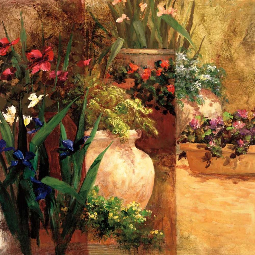 konfigurieren des Kunstdrucks in Wunschgröße Flower Pots Right von Fronckowiak, Art