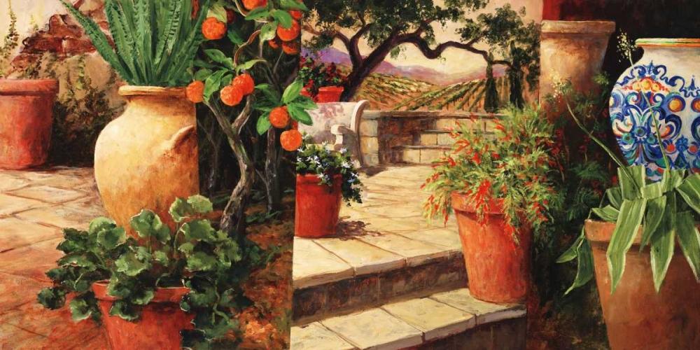 konfigurieren des Kunstdrucks in Wunschgröße Turo Tuscan Orange von Fronckowiak, Art