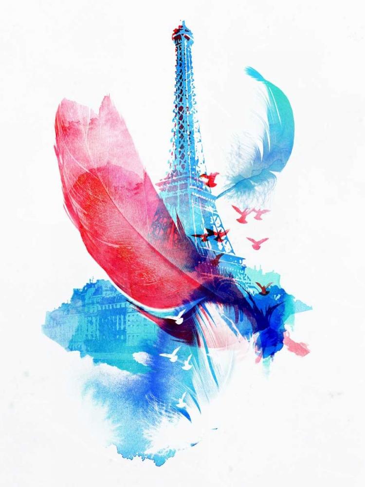 konfigurieren des Kunstdrucks in Wunschgröße Pigeons of Paris von Farkas, Robert