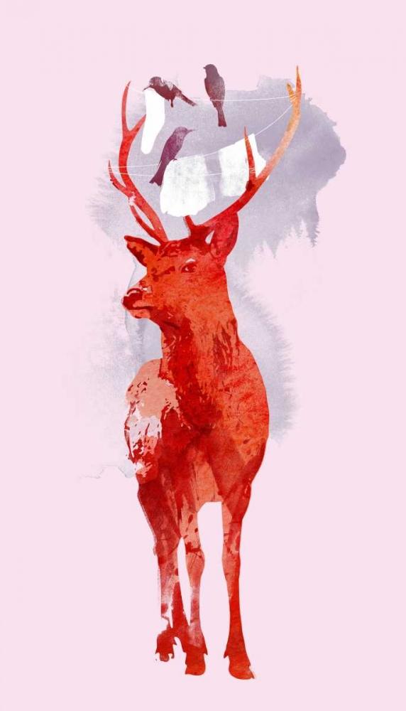 konfigurieren des Kunstdrucks in Wunschgröße Useless Deer von Farkas, Robert