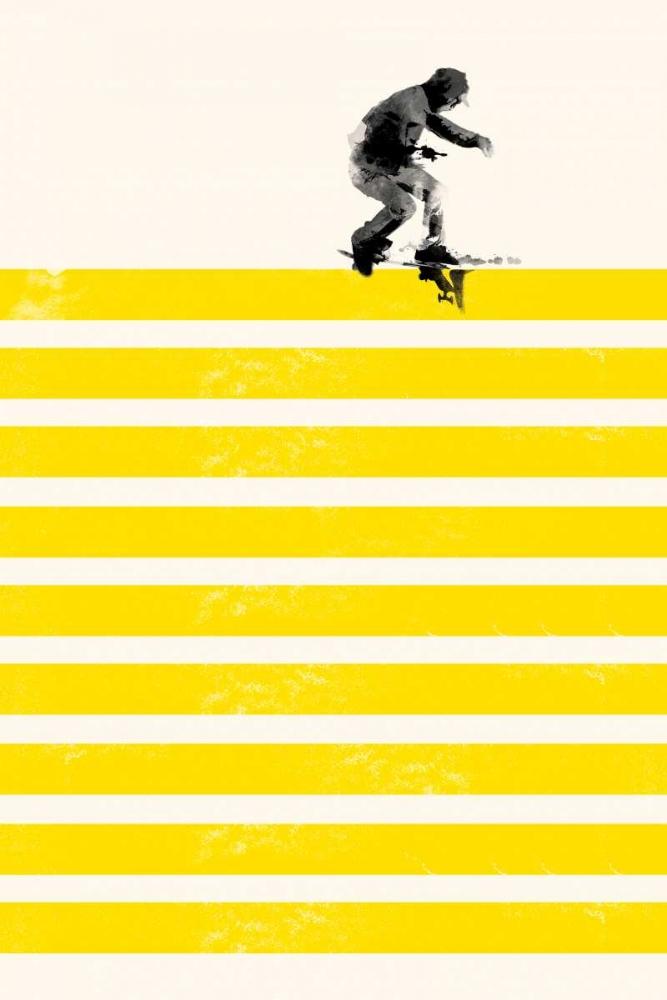 Urban/Pop Surrealism,Figurative,Figurative,,,,,F586D,Slide in Stripes,Farkas, Robert,Vertical