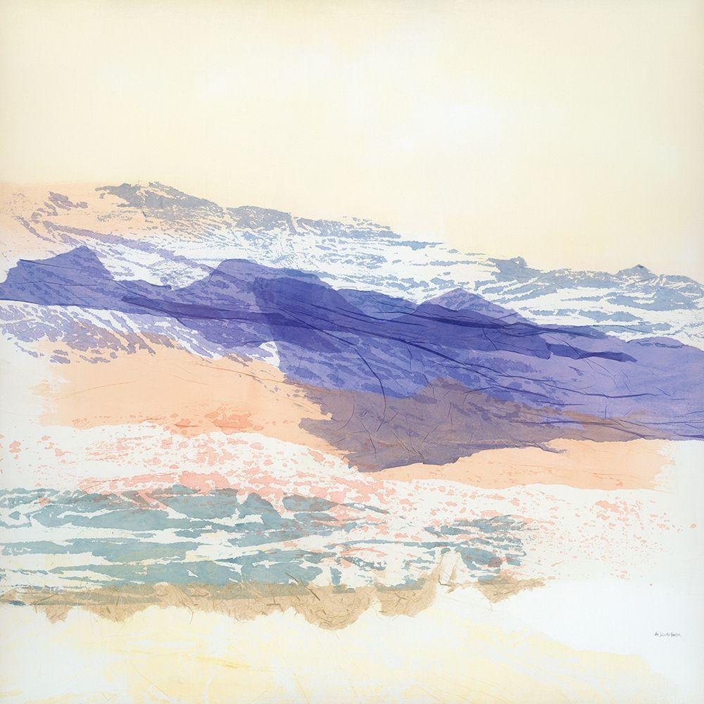 konfigurieren des Kunstdrucks in Wunschgröße Abstract Mountain von Fowler, Jan Sullivan