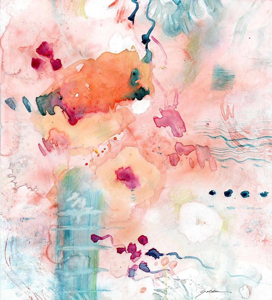 konfigurieren des Kunstdrucks in Wunschgröße Emergence von Golden, Sheila