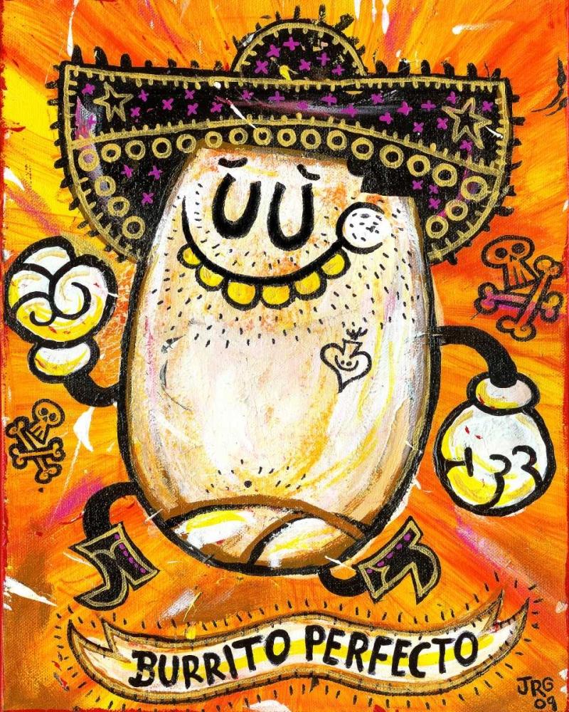 konfigurieren des Kunstdrucks in Wunschgröße Burrito Perfecto von Gutierrez, Jorge R.
