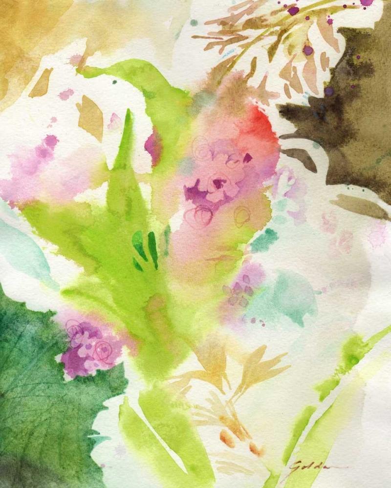 konfigurieren des Kunstdrucks in Wunschgröße Fusion No. 2 von Golden, Sheila