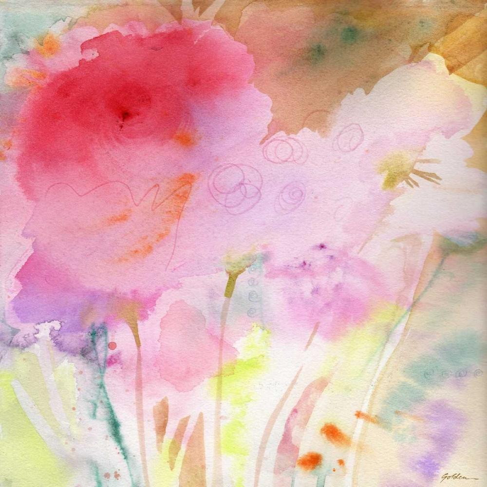 konfigurieren des Kunstdrucks in Wunschgröße Pink Whisper von Golden, Sheila