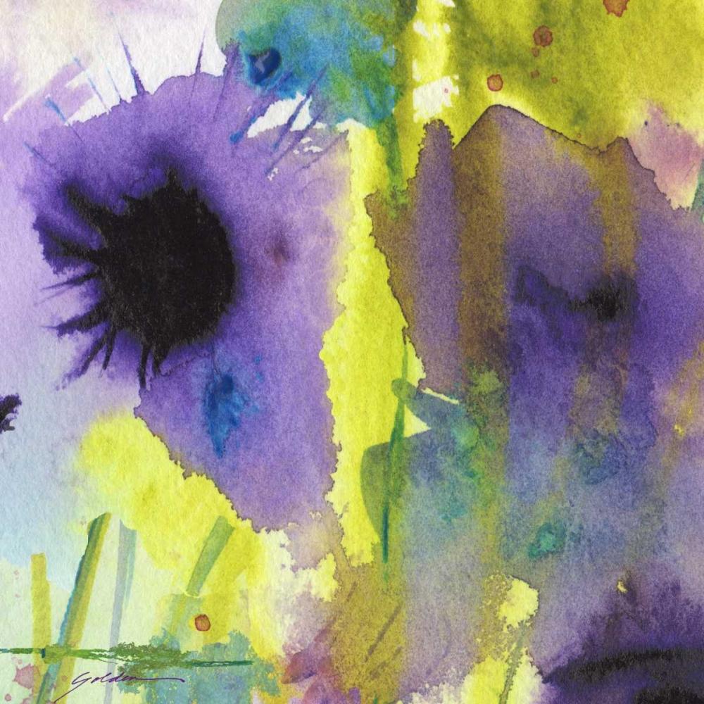 konfigurieren des Kunstdrucks in Wunschgröße Purple Essence von Golden, Sheila