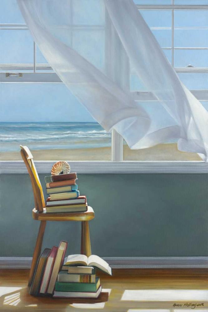 konfigurieren des Kunstdrucks in Wunschgröße Summer Reading List von Hollingsworth, Karen