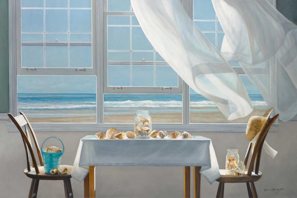 konfigurieren des Kunstdrucks in Wunschgröße The Shell Collectors von Hollingsworth, Karen