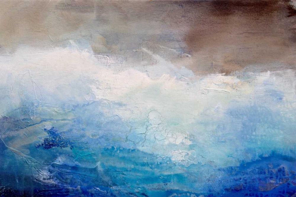 konfigurieren des Kunstdrucks in Wunschgröße Ombre Blue von Hale, Karen