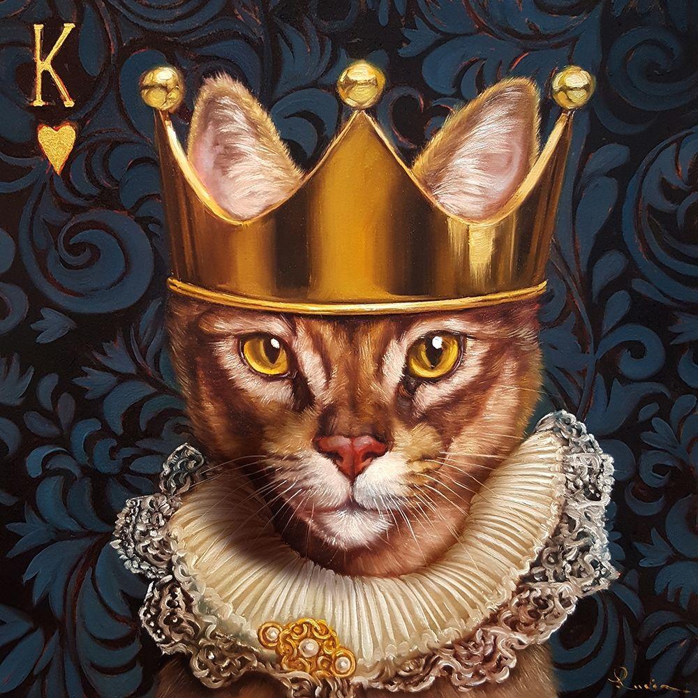konfigurieren des Kunstdrucks in Wunschgröße King of Hearts von Heffernan, Lucia