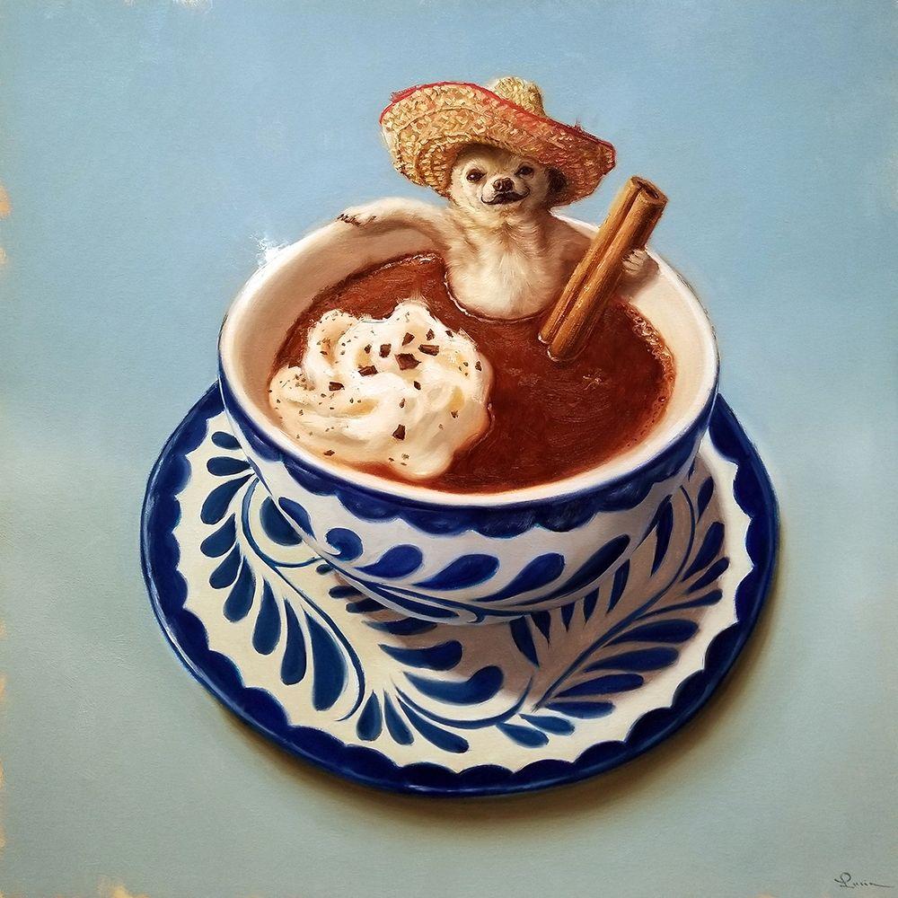 konfigurieren des Kunstdrucks in Wunschgröße Mexican Hot Chocolate von Heffernan, Lucia