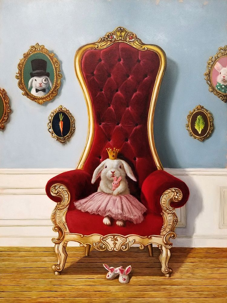 konfigurieren des Kunstdrucks in Wunschgröße Little Princess von Heffernan, Lucia