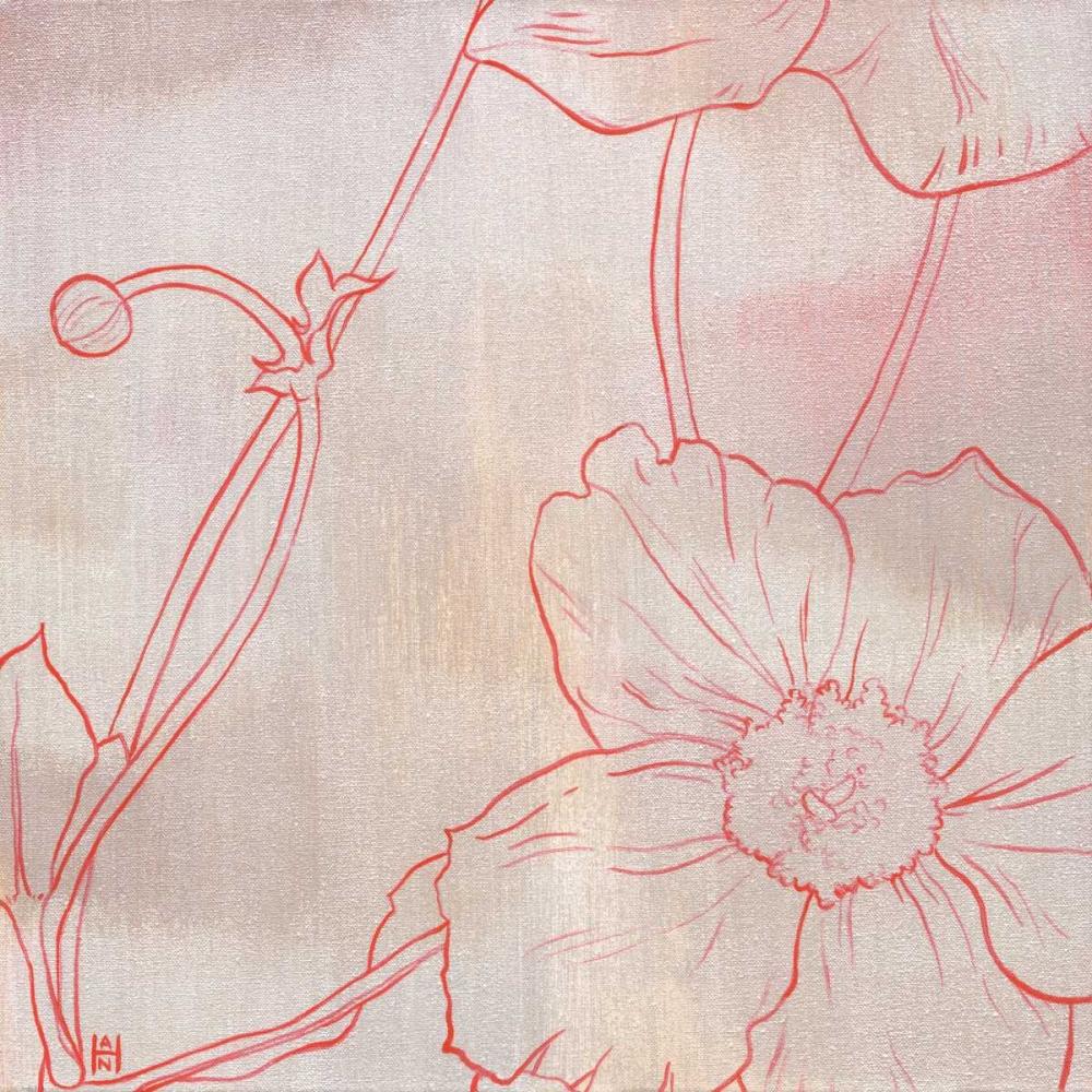 konfigurieren des Kunstdrucks in Wunschgröße Anemone I von Han, Stephanie