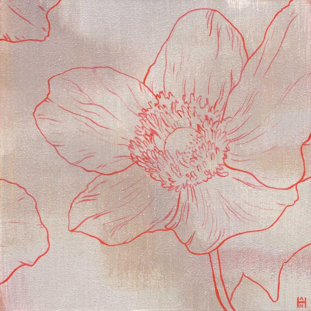 konfigurieren des Kunstdrucks in Wunschgröße Anemone II von Han, Stephanie