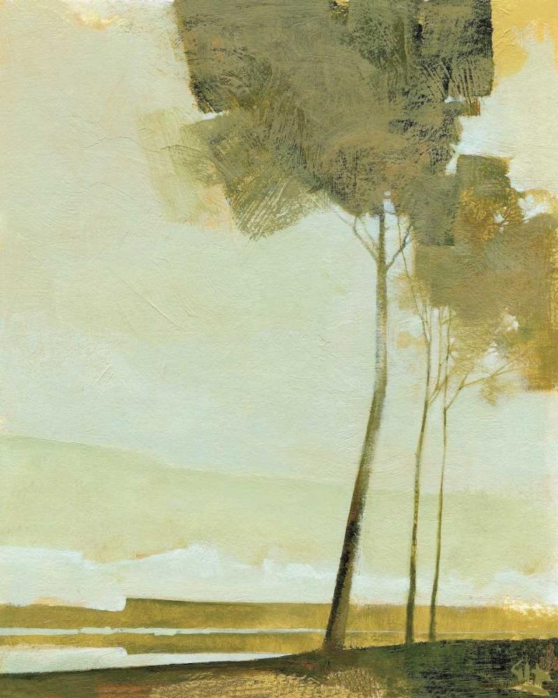konfigurieren des Kunstdrucks in Wunschgröße Three Trees von Hargreaves, Greg