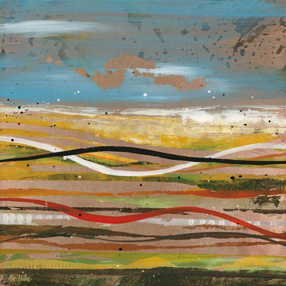 konfigurieren des Kunstdrucks in Wunschgröße High Plains 2 von Hile, Scott