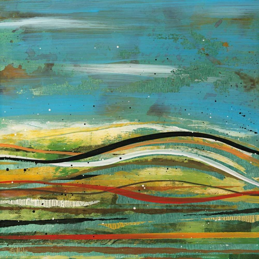 konfigurieren des Kunstdrucks in Wunschgröße High Plains 4 von Hile, Scott