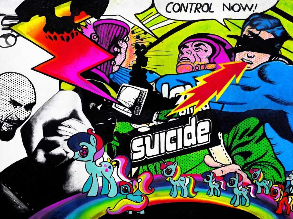 konfigurieren des Kunstdrucks in Wunschgröße Whatever You Like von Colourblind Suicide