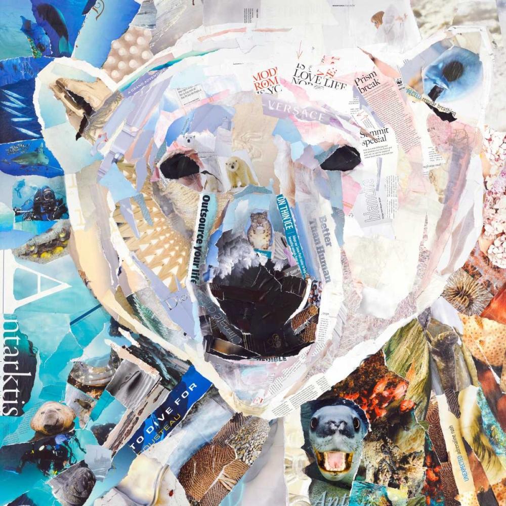 konfigurieren des Kunstdrucks in Wunschgröße Polar Bear von Grey, James