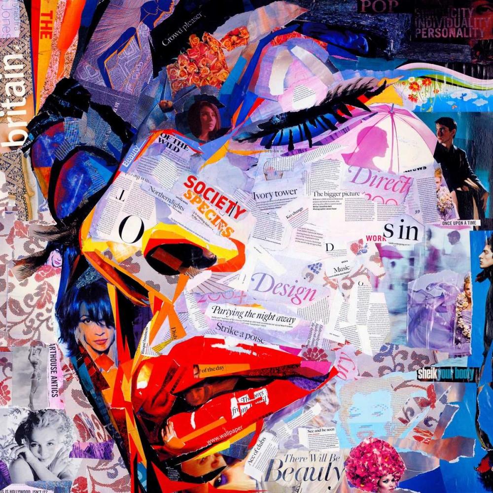 konfigurieren des Kunstdrucks in Wunschgröße Society von Grey, James