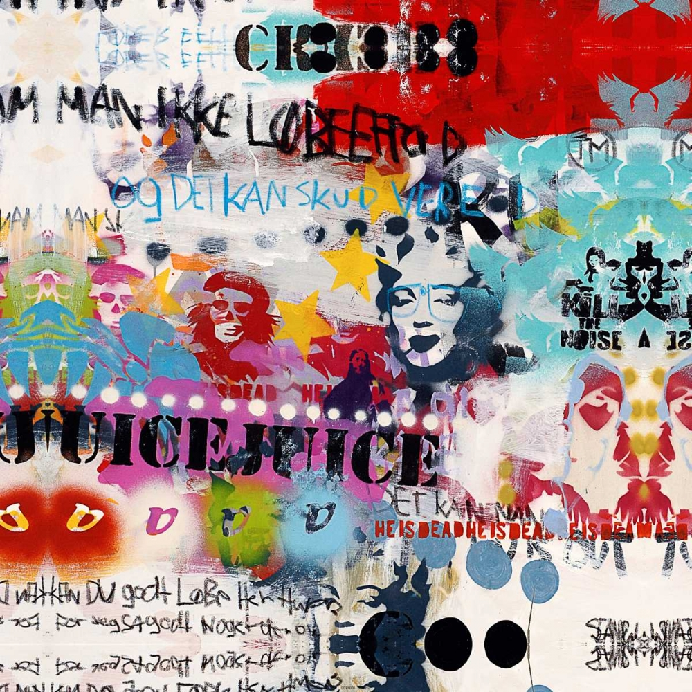 konfigurieren des Kunstdrucks in Wunschgröße Juice von Punk, Sean