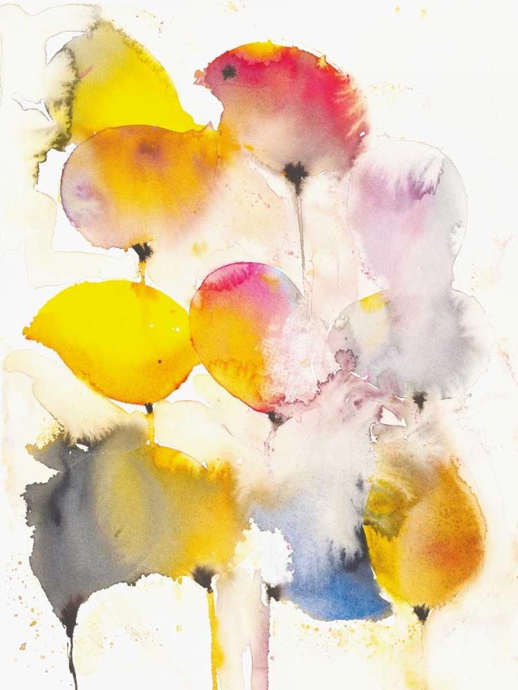 konfigurieren des Kunstdrucks in Wunschgröße Leaves Falling II von Johannesson, Karin