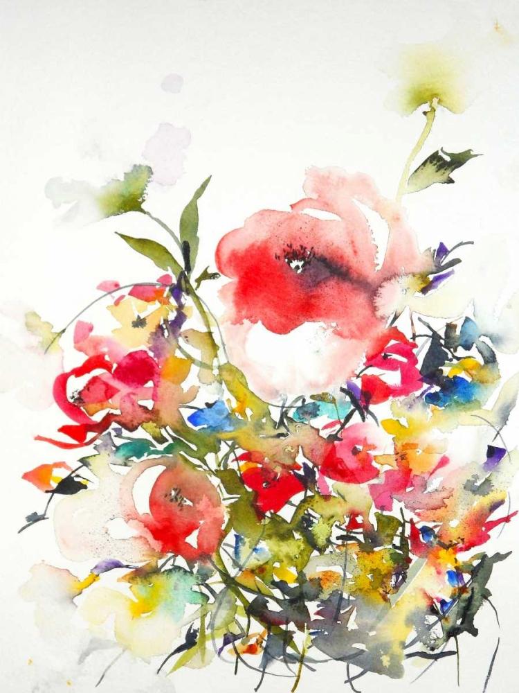 konfigurieren des Kunstdrucks in Wunschgröße Summer Garden One von Johannesson, Karin