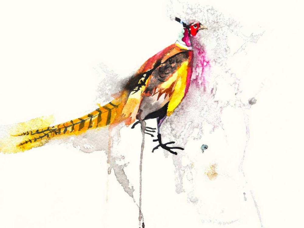konfigurieren des Kunstdrucks in Wunschgröße Pheasant von Johannesson, Karin