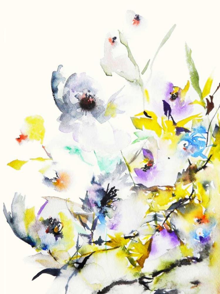 konfigurieren des Kunstdrucks in Wunschgröße Summer Garden V von Johannesson, Karin