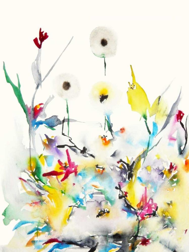 konfigurieren des Kunstdrucks in Wunschgröße Summer Garden VI von Johannesson, Karin