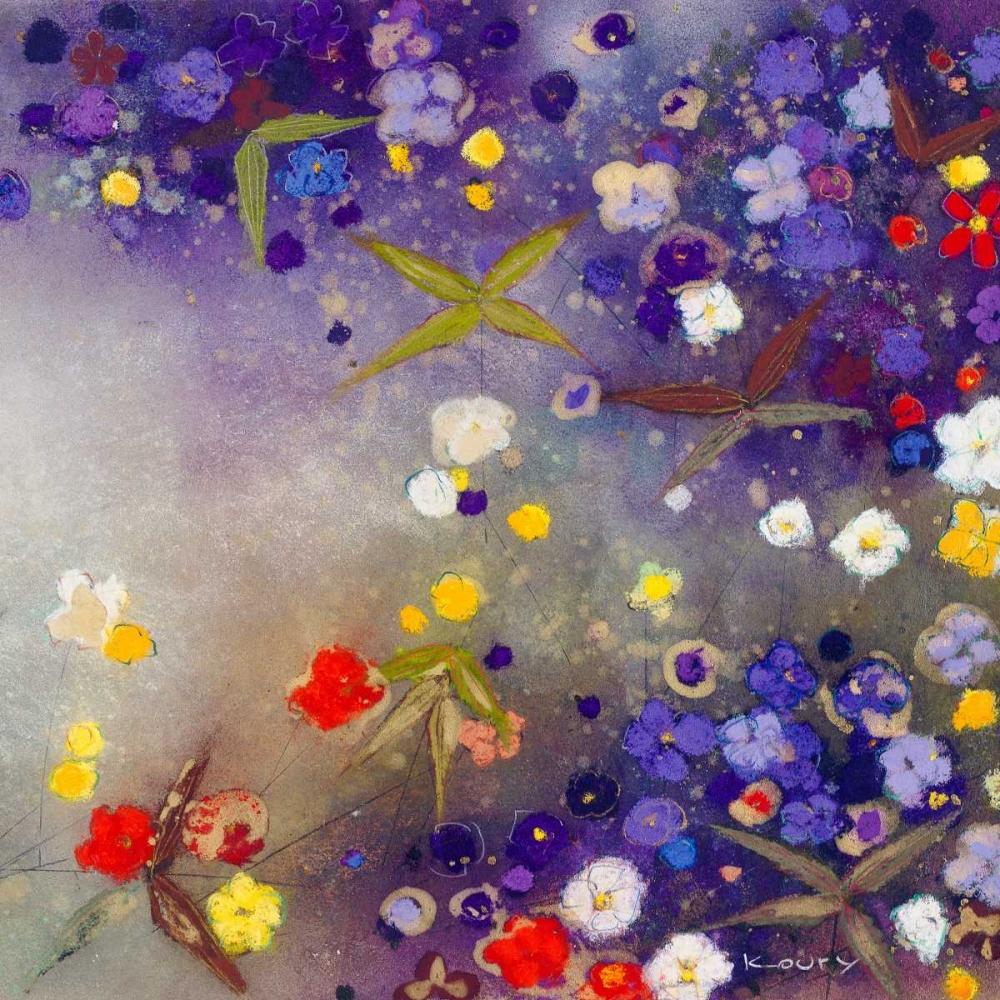 konfigurieren des Kunstdrucks in Wunschgröße Gardens in the Mist X von Koury, Aleah