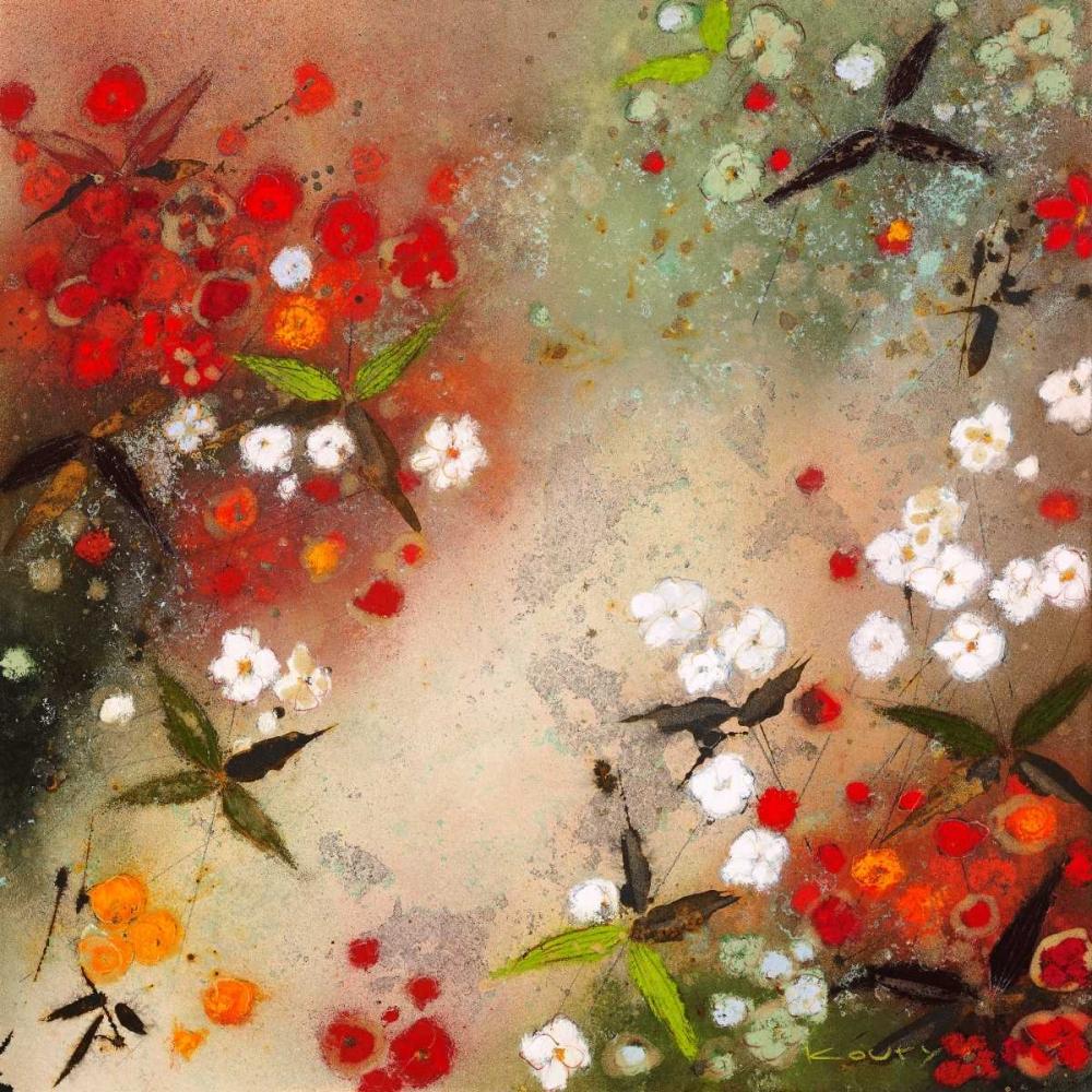 konfigurieren des Kunstdrucks in Wunschgröße Gardens in the Mist XII von Koury, Aleah