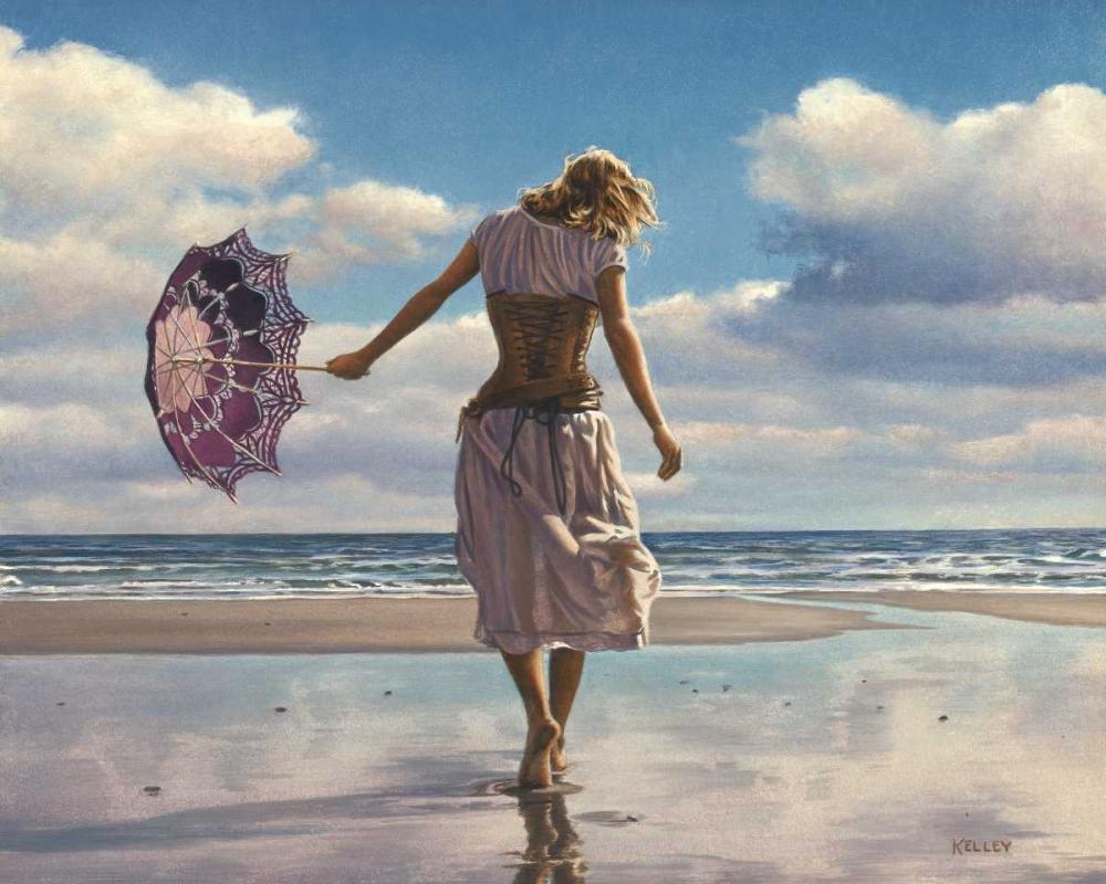 konfigurieren des Kunstdrucks in Wunschgröße Walking on Broken Clouds von Kelley, Paul