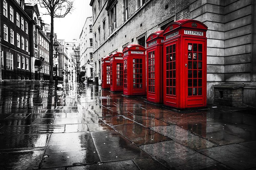 konfigurieren des Kunstdrucks in Wunschgröße London Phones von Kostka, Vladimir