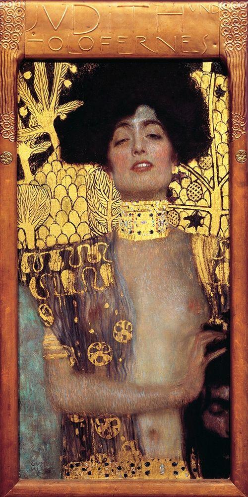 konfigurieren des Kunstdrucks in Wunschgröße Judith I von Klimt, Gustav