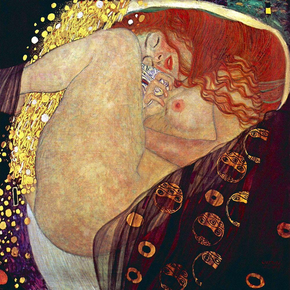 konfigurieren des Kunstdrucks in Wunschgröße Danae, 1907-1908 von Klimt, Gustav