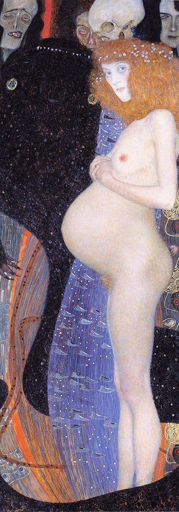 konfigurieren des Kunstdrucks in Wunschgröße The Hope I von Klimt, Gustav